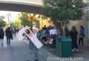 Today is a candy cane day at Trolley Treats, this is the wristband line