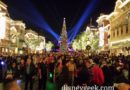 #Disneyland Main Street USA after #Candlelight looking toward Town Square