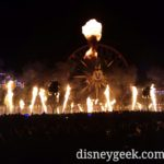 World of Color – Season of Light – Plus some fire