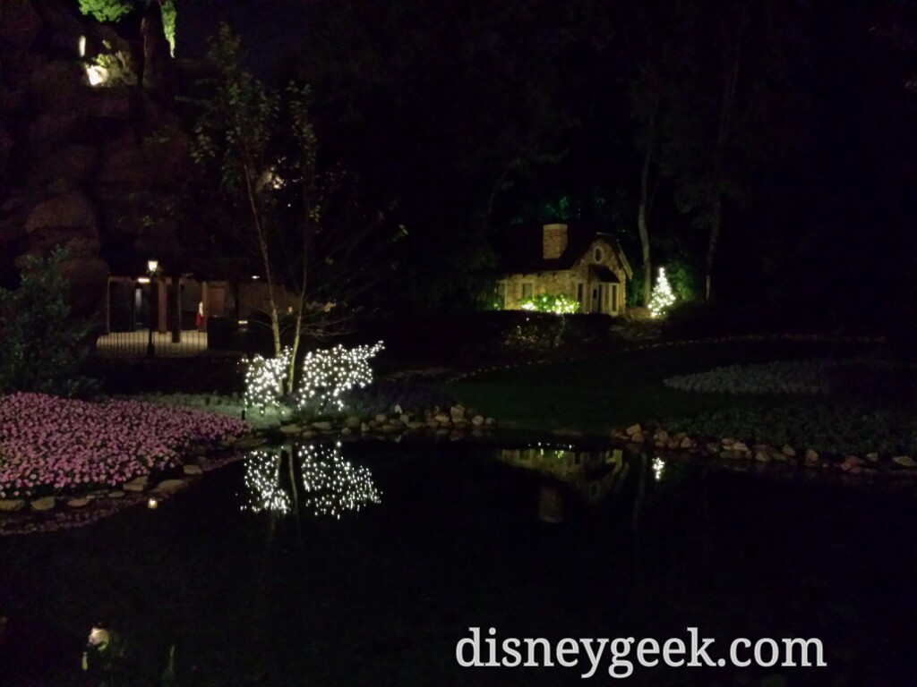 Victoria Gardens In Canada At Epcot This Evening The Geek 39 S Blog