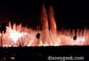 A little breezy tonight –   World of Color – Season of Light