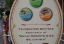 #Disneyland celebration buttons at the Opera House not City Hall today