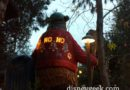 The back of the GRR Bear's #ChristmasSweater lights up too