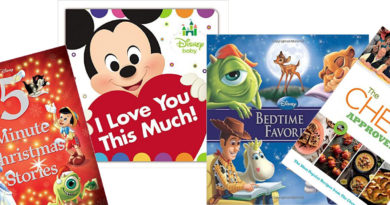 Teri's Take – Disney Press Books for New Parents, Bedtime Stories & Cooking