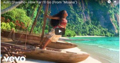 Moana - How Far I'll Go Sequence