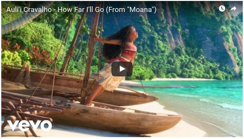 Moana - How Far I'll Go Sequence