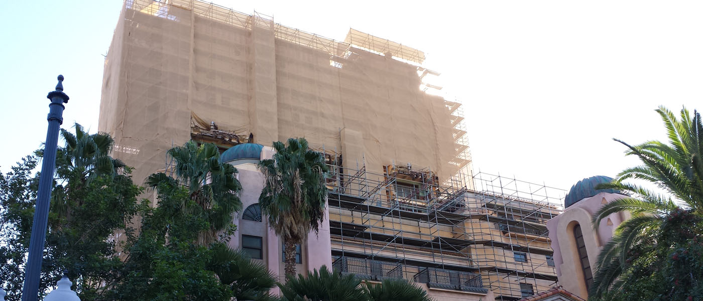 Current state of Tower of Terror -> Guardians (several pictures)