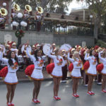 USC Band performing @DisneylandToday (several pictures)