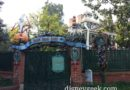 Haunted Mansion is closed for removal of the holiday overlay