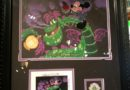 Mickey's Dragon hand painted cell available 1/20