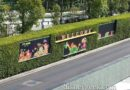 Disneyland Main Street Electrical Parade is featured on the Mickey & Friends tram stop billboards