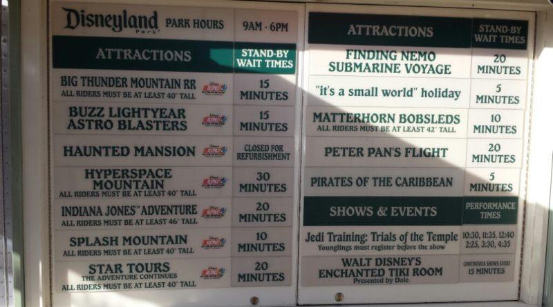 #Disneyland waits as of 2:35pm