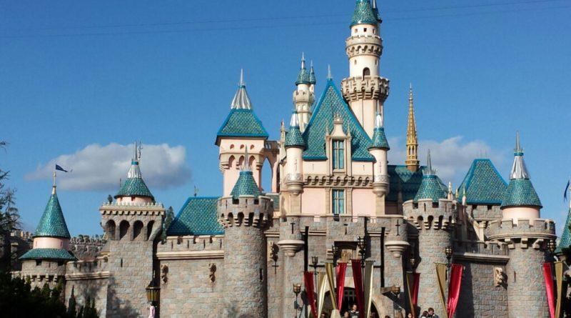 #Disneyland Sleeping Beauty Castle is celebrating #Disneyland60 again/still