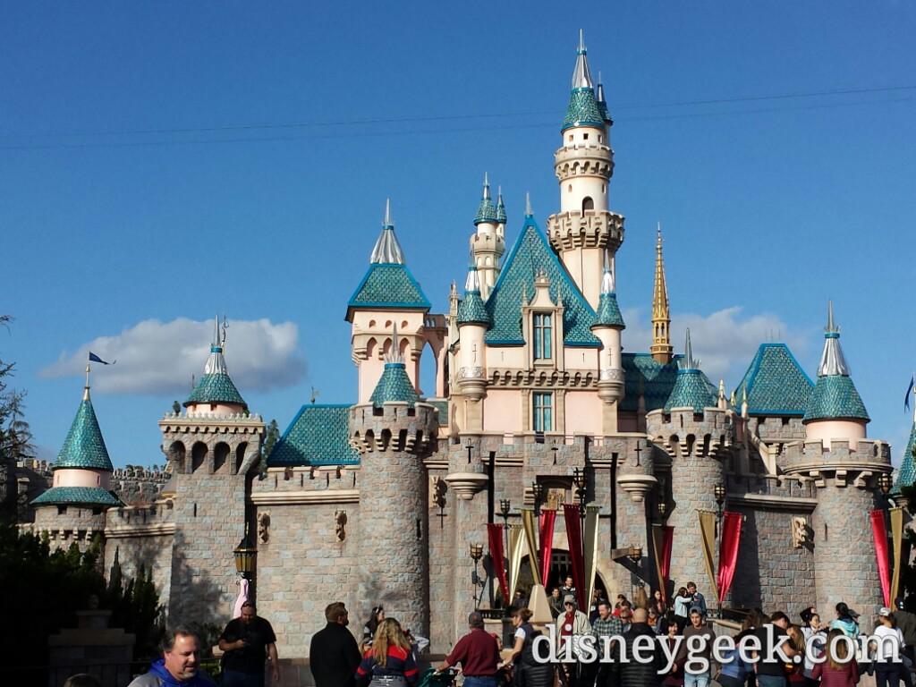 disneyland sleeping beauty castle is celebrating #disneyland60
