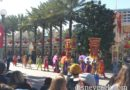 Mulan's Lunar New Year procession features Chinese Acrobats today