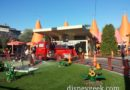 Red at the Cozy Cone this afternoon #CarsLand