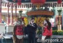 Chip & Dale hanging out at the Lunar New Year Celebration