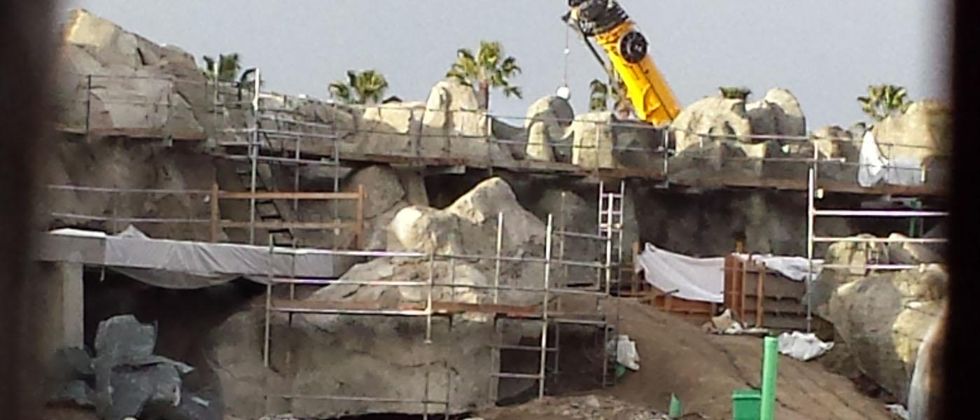Disneyland Star Wars Construction Check (1/19)