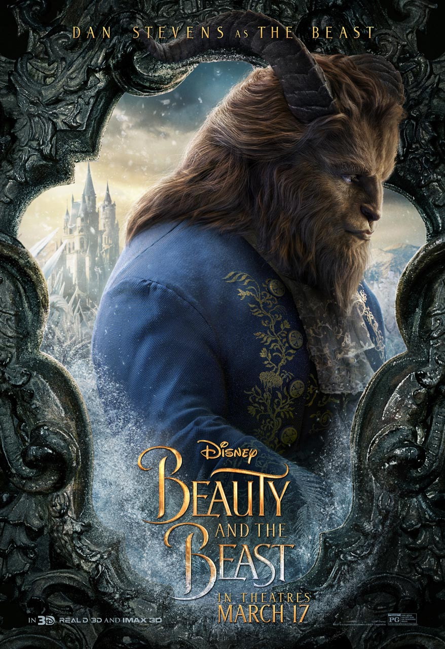Beauty and the Beast -  Dan Stevens as the Beast