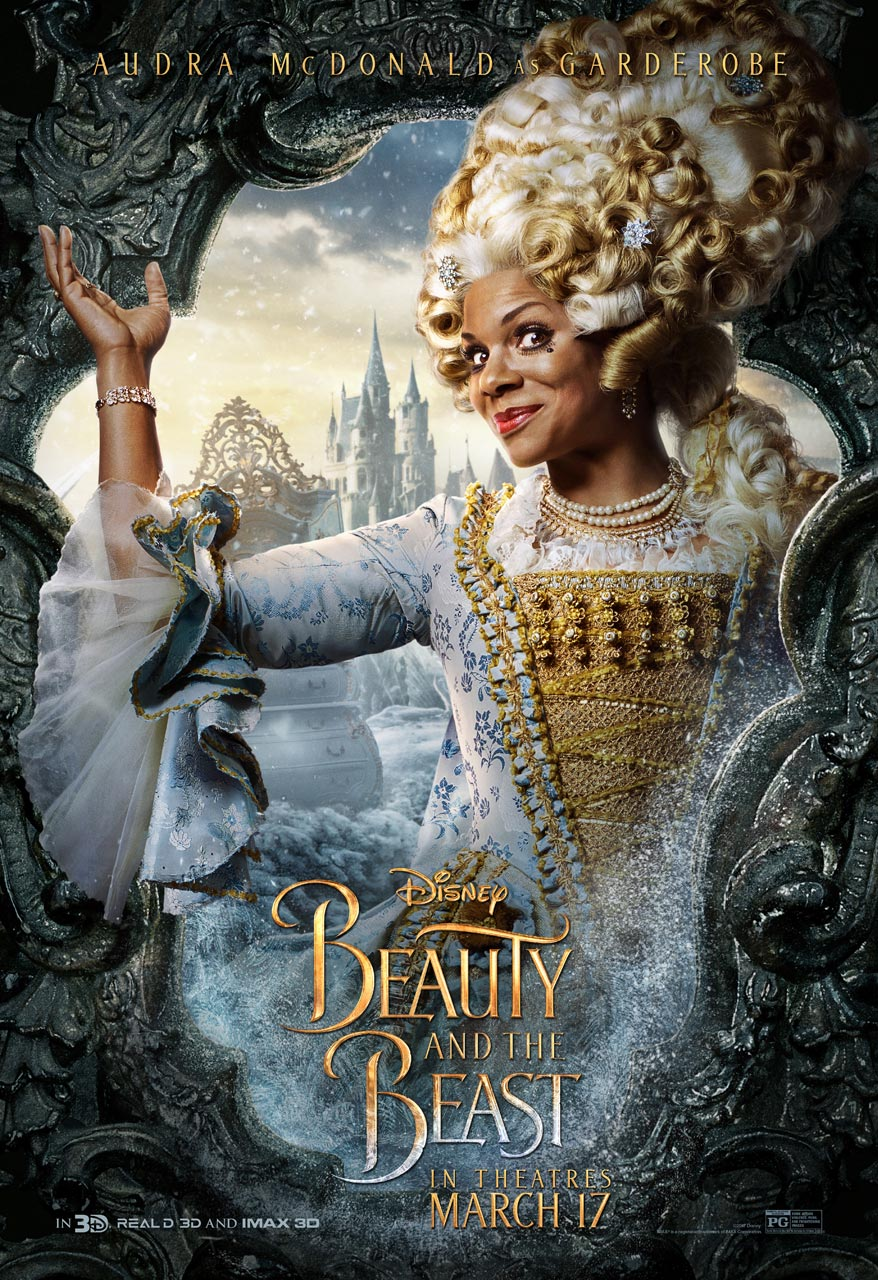 Beauty and the Beast - Audra McDonald as Garderobe