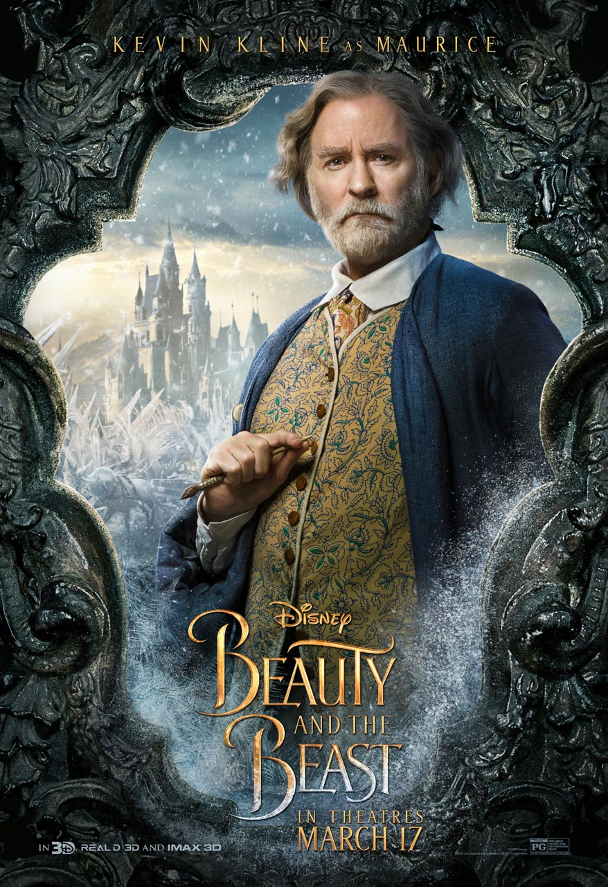 Beauty and the Beast - Kevin Kline as Maurice