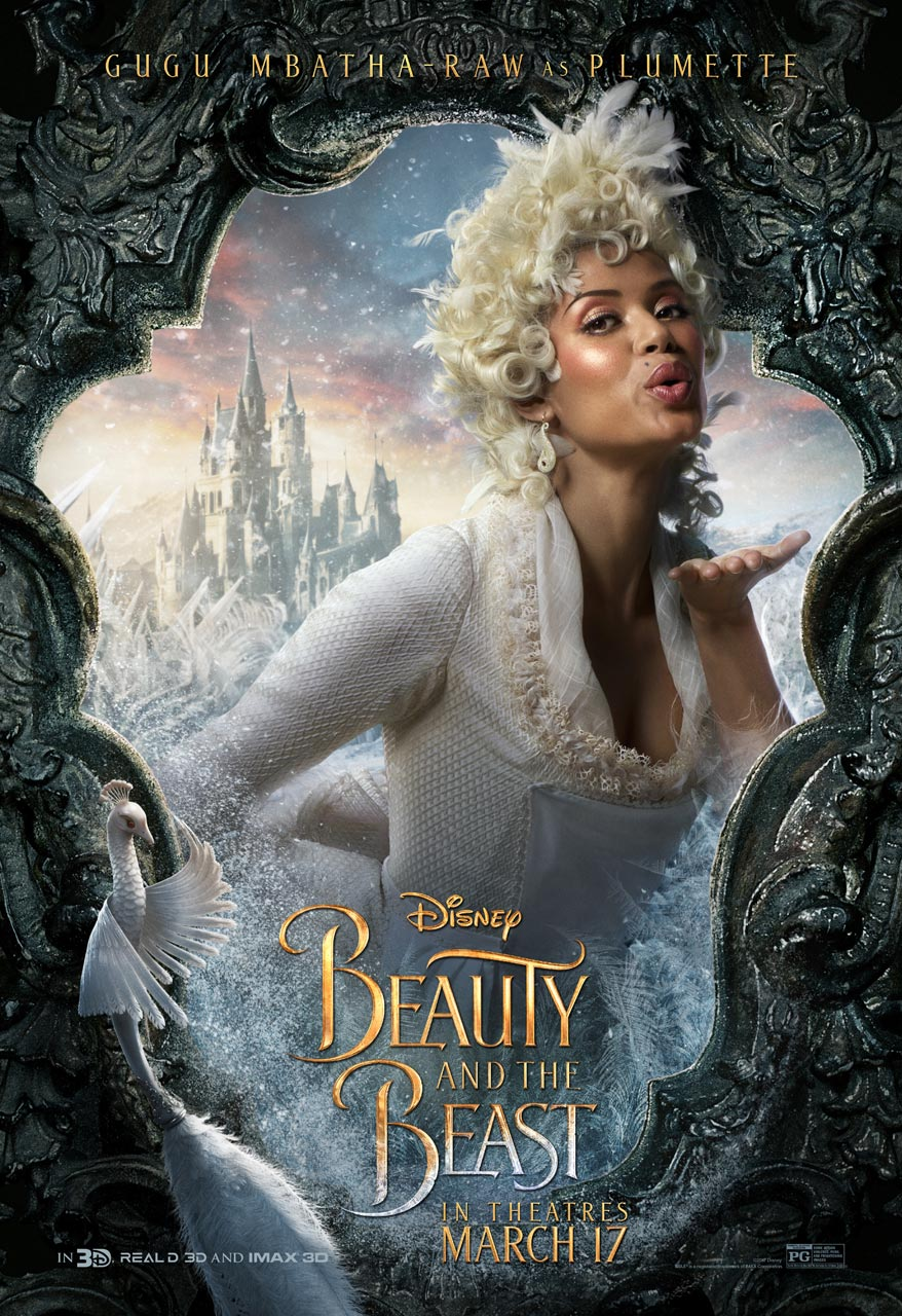 Beauty and the Beast - Gugu Mbatha-Raw as Plumette