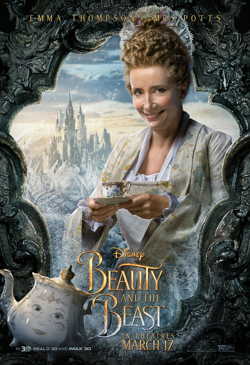 Beauty and the Beast - Emma Thompson as Mrs. Potts