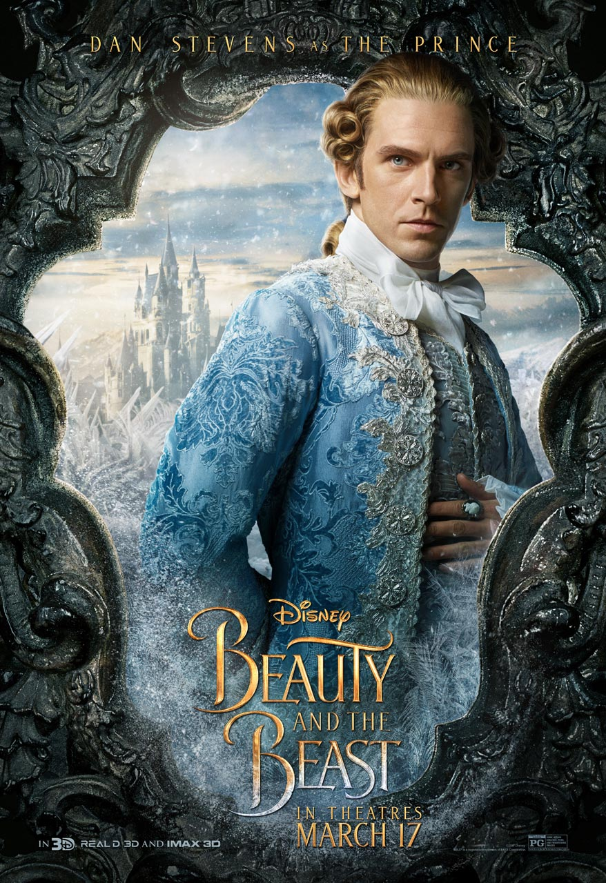 Beauty and the Beast - Dan Stevens as the Prince