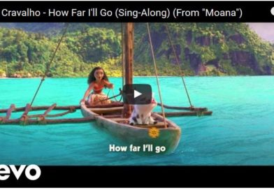 """Moana Sing-Along Video – """"How Far I'll Go"""" – Film to be Released 1/27 in Select Theaters"""