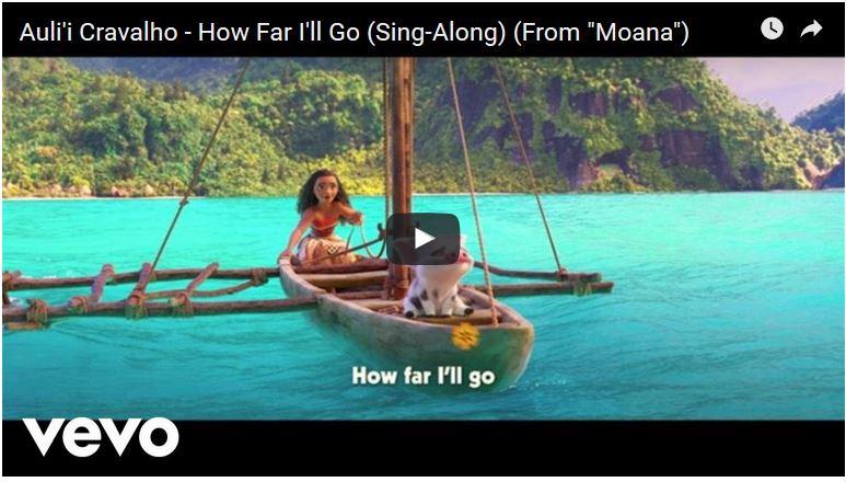 Moana Sing-Along