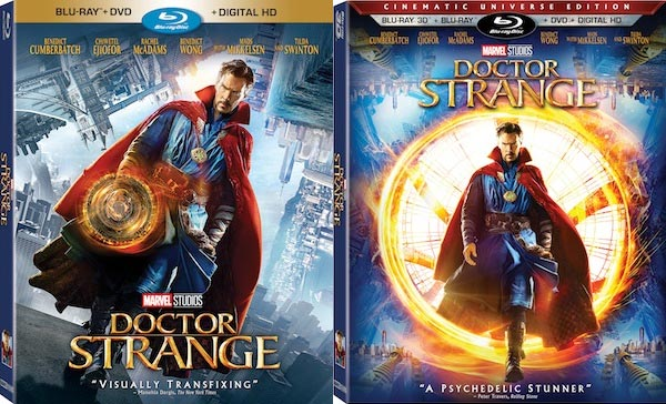 Doctor Strange - Home Video - Blu Ray