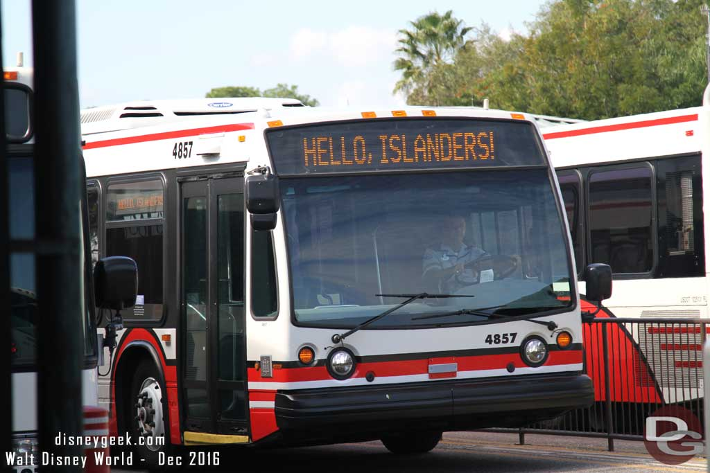 WDW Bus Signs