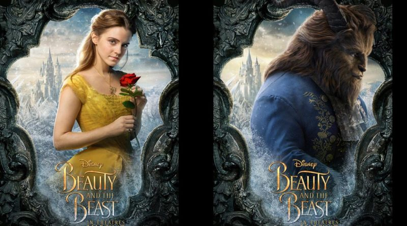 Beauty And The Beast Characters Posters The Geek S Blog Disneygeek Com