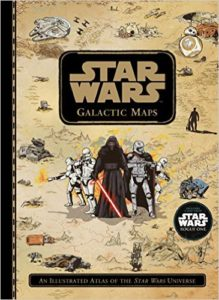 Star Wars Glactic maps Book Cover