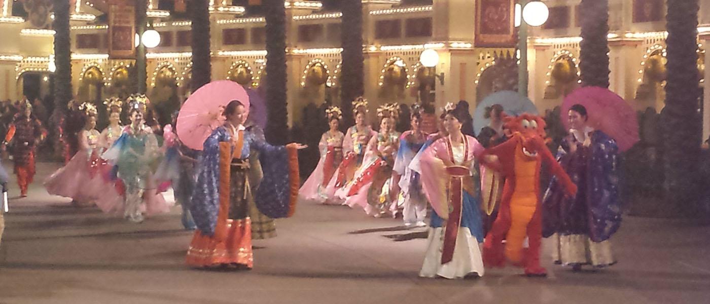 Mulan's Lunar New Year Procession @ Disney California Adventure