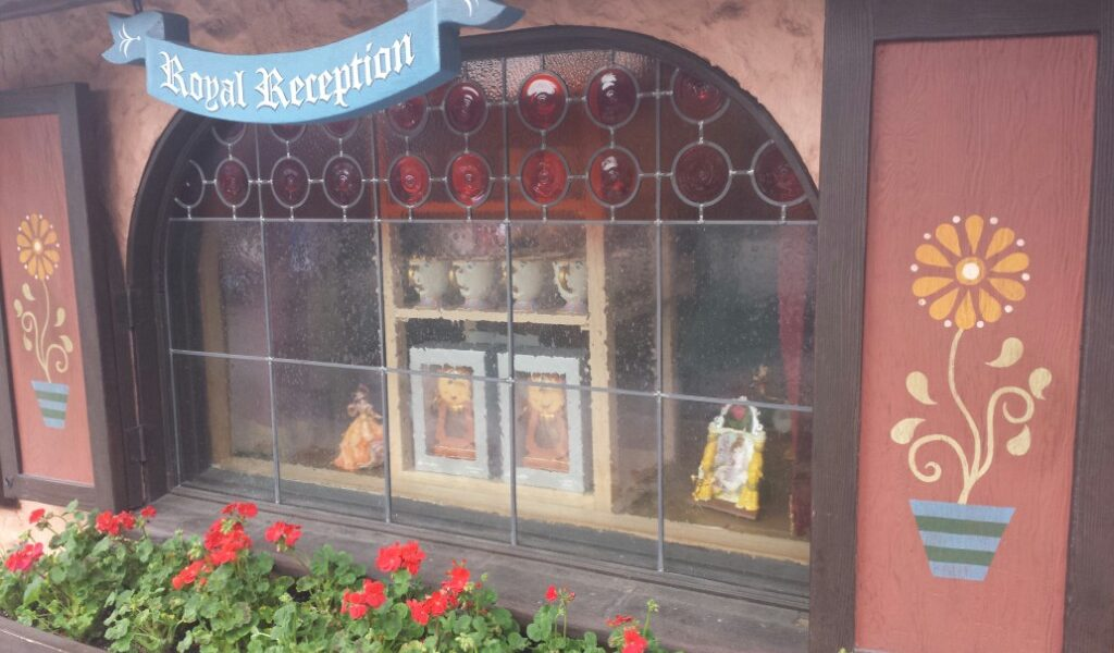 Royal Reception Store Now Features Beauty and the Beast Merchandise  (Several Pictures)