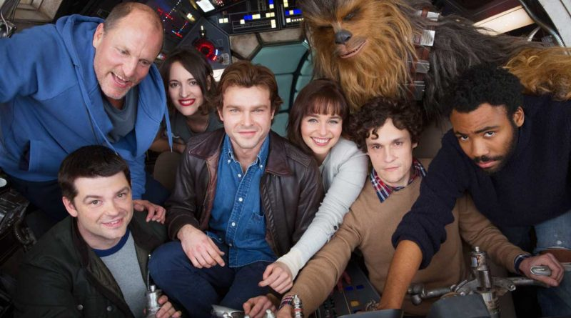 HAN SOLO - A NEW STAR WARS STORY BEGINS PRODUCTION