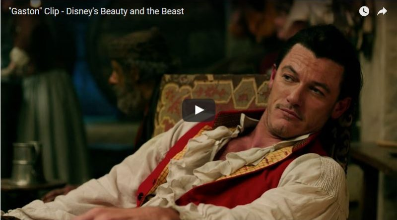 Beauty and the Beast - Gaston Clip Image