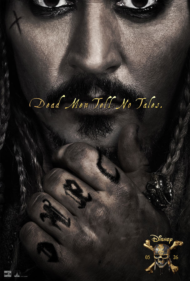 """Pirates of the Caribbean: Dead Men Tell No Tales"" is in theaters May 2017 in 3D, RealD 3D and IMAX 3D!"