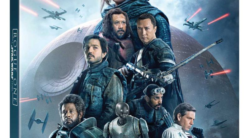 Rogue One: A Star Wars Story - Blu ray package