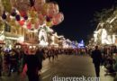 Waiting for the Main Street Electrical Parade