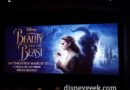 At Walt Disney Studios for a screening of Beauty and the Beast tonight
