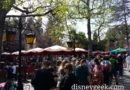 Red Rose Taverne queue is long today (this is the end, it goes to restrooms then wraps back to doors)