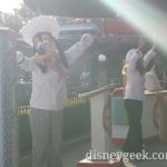 Chef Goofy leading the Jr Chefs at Disney California Adventure Food and Wine Festival