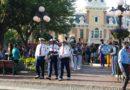 #Disneyland Nightly Flag Retreat Ceremony