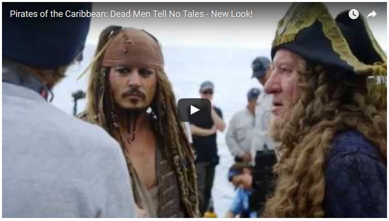 Pirates of the Caribbean Dead Men Tell No Tales - New Look Video