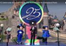 Disneyland Paris 25th Anniversary Premiere Video Replays