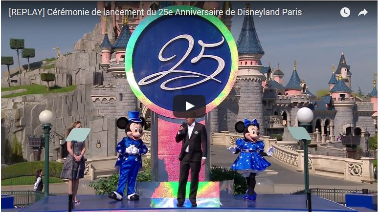 Disneyland Paris 25th Replays