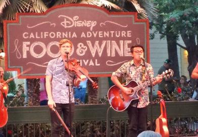 Disney California Adventure Food & Wine Festival – March 2 to April 12, 2018