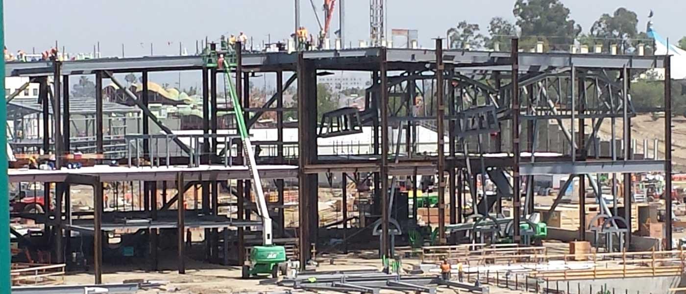 Disneyland Star Wars Construction Check (3/17)
